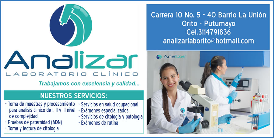 Analizar – Laboratorio