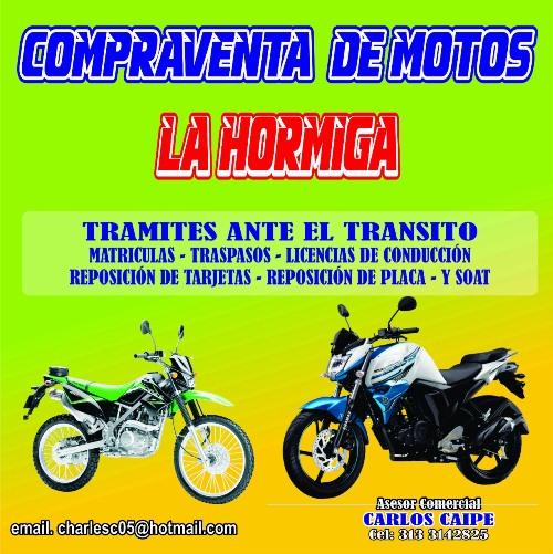 Compraventa de Motos La Hormiga