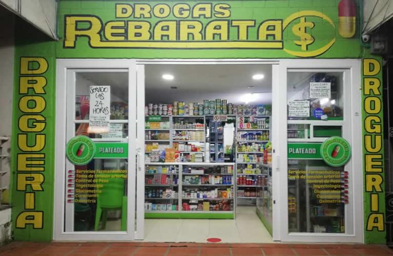 Droguería Rebaratas Plateado