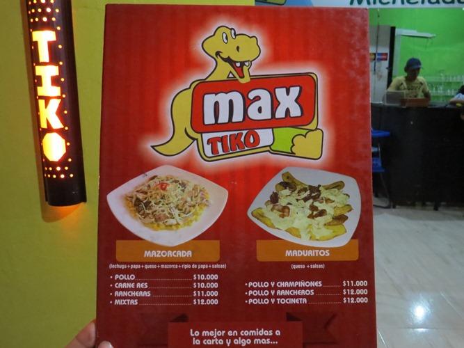 Max Tiko Comidas Rápidas