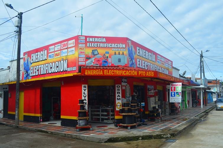 Energía Electrificación Puerto Asís