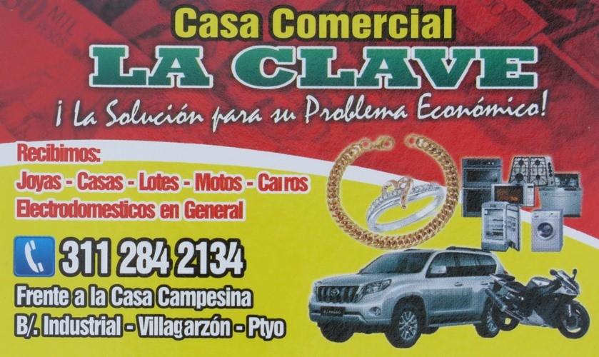 Casa Comercial La Clave