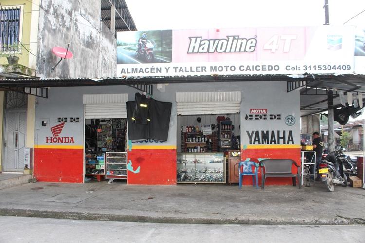 Moto Caicedo