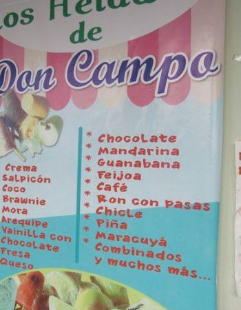Los Helados de Don Campo