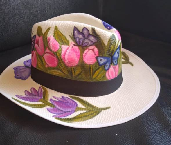 Sombreros Pintados a Mano